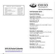 Parents & Family Calendar