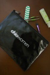 ohio women zipper pouch