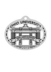 2015 Pewter Holiday Ornament