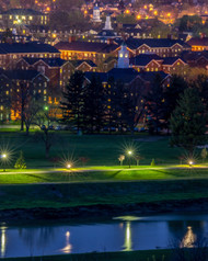 Robert Powell Photography: South Green at Dusk
