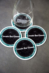 Russ College Coasters (set of 4)