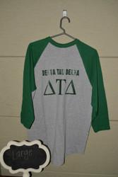 Delta Tau Delta Baseball T-shirt