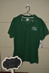 C&B Green Arched Ohio Polo
