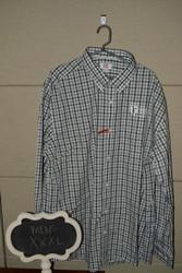 Striped Button Down HCOM Shirt