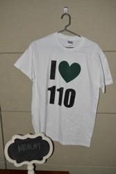 I <3 110 T-Shirt