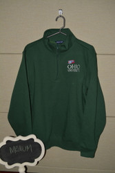 Green Ohio University Quarter Zip