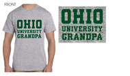 Ohio University Grandpa Grey T-Shirt