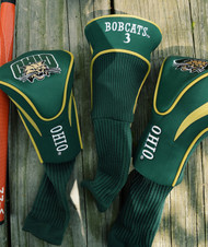 Ohio University 3 Pk Contour Sock Headcovers