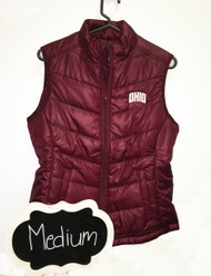 Cutter and Buck Red Vest