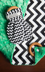 Baby Blanket and Teething Set