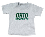 Ohio University Infant Grey T-Shirt