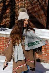 Attack Cat Cozy Fleece Scarf