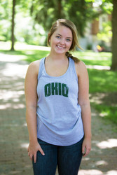Arch OHIO Racer-Back Tank with Paw