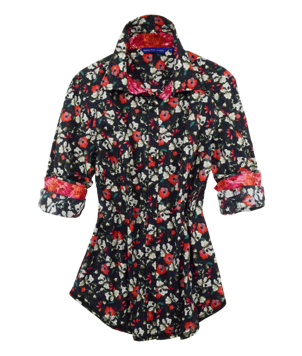 Plus sizes 100% Cotton Liberty of London Floral print