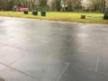 Slate paving
