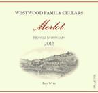 2012 Westwood Family Cellars Merlot