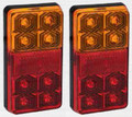 Series 155 LED Combination Light Stop/Tail/Indicator 12 Volt - Pair