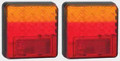 100 Series LED Combination Light Stop/Tail/Indicator 12 Volt - Pair