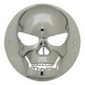 4 inch Round Chrome Skull Light Bezel