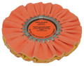 Zephyr Orange/Yellow Kwik Kut Airway Buffing Wheel - 8 inch