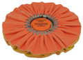 Zephyr Orange/Yellow Kwik Kut Airway Buffing Wheel - 10 inch