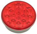4 inch Round Red LED Stop/Tail Light with Red Lens