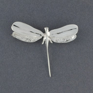 Sterling Silver Small Dragonfly Pin