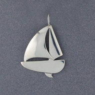 Exclusive Rhode Island Sailboat Pendant