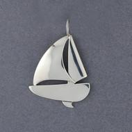 Exclusive Rhode Island Sailboat Pendant