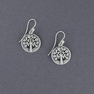 Detailed Tree of Life Earrings