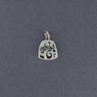 Silver Mini Swirls Pendant