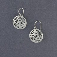 Sterling Silver Abstract Earring