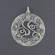 Ornate Vine Pendant