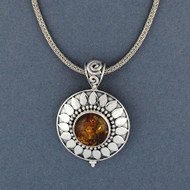 Arianna Amber Necklace
