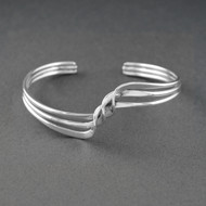 Sterling Silver Tripple Twist Cuff