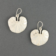 Sterling Silver Lily Pad Earrings