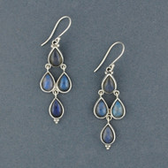 Cordelia Labradorite Earrings