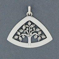Triangle Tree of Life Pendant