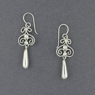Sterling Silver Curly Dangles