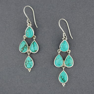 Cordelia Turquoise Earrings