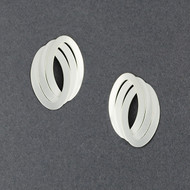 Triple Oval Post Earring