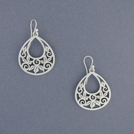 Teardrop Vine Earrings