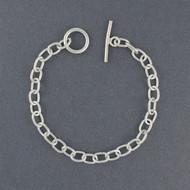 Sterling Silver Traditional Link Bracelet