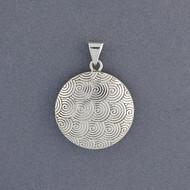 Sterling Silver Swirls Pendant