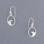 Exclusive Rhode Island Wave Earrings