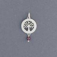 Tree of Life Pendant with Stone