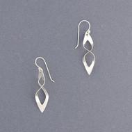 Sterling Silver Small Swirly Earring