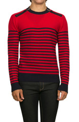 Axel Stripe Knit Red/Navy