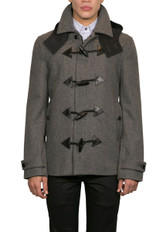 Hank Short Duffle Coat Grey