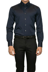 Jake gg placket shirt Navy